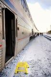 Шаг поезда стоковая фотография