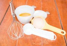Шаг подготовки хлебопекарни Стоковая Фотография