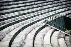 Шаг старых мест стадиона Стоковое Изображение RF