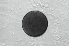 Шайба хоккея Стоковое фото RF