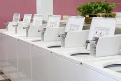шайбы laundromat стоковое фото rf