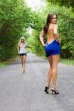 шаловливые женщины стоковые изображения rf