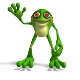 шальная жаба Стоковое фото RF