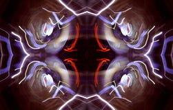 шальная картина светов Стоковые Фото