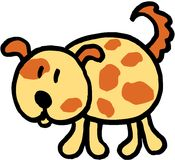 шальная собака Стоковая Фотография