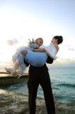 шальной groom Стоковая Фотография RF
