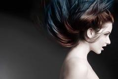 шальные волосы Стоковые Фото