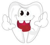 Шальные зубы говорят высокую бесплатная иллюстрация