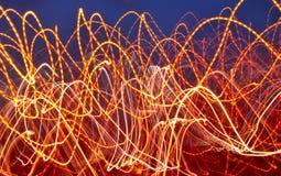 шальные света Стоковые Фото