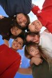 шальные счастливые малыши Стоковые Изображения RF