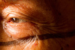 Шаман от индигенной группы в составе Санто Доминго Стоковые Фотографии RF