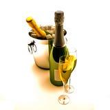 шампанское бутылки иллюстрация штока