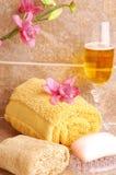 шампанское ванны вспомогательного оборудования Стоковое Фото