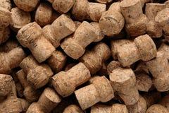 шампанское предпосылки corks текстура Стоковое Фото