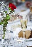 шампанское цветет стекло Стоковая Фотография RF