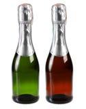 Шампань изолировало на белой предпосылке Стоковое фото RF