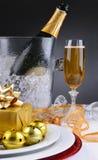 Шампань и настоящие моменты стоковая фотография