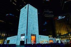 Шанхай, Китай - 12-ое марта 2016: Экстерьер магазина Louis Vuitton в дороге Шанхае Нанкина один из самого большого магазина стоковое изображение