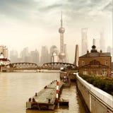 Шанхай, Китай Стоковое Изображение RF