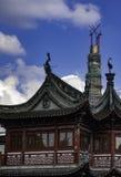 Шанхай новый встречает старую Стоковые Изображения