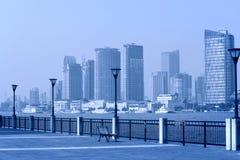 Шанхай Пудун, парк стоковая фотография rf