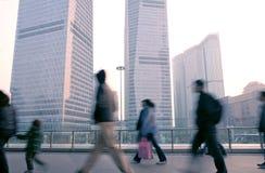 Шанхай финансового центра lujiazui стоковое изображение rf