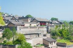 ШАНЬСИ, КИТАЙ - SEPT. 05 2015: Двор семьи Wang известный h Стоковое фото RF