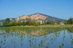 Шань Huo yan в Miaoli County, Тайване стоковое изображение rf