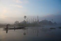Шань pagodas скита Стоковые Фото