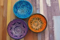 3 шара покрашенных turkish Стоковые Изображения