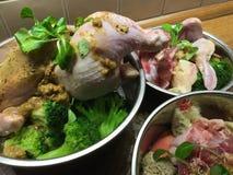 3 шара собачьей еды стоковое фото rf