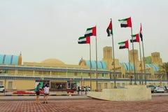 Шарджа, Объединенные эмираты Центральное Souk, по-разному голубое souk Souk или золота - рынок в Шардже стоковые изображения rf