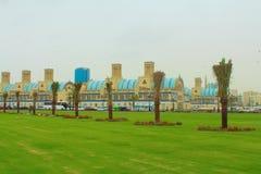 Шарджа, Объединенные эмираты Центральное Souk, по-разному голубое souk Souk или золота - рынок в Шардже стоковые изображения