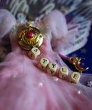 шаржа характера спокойствия аниме собрания хобби платья куклы sailormoon стиля симпатичное милого миниатюрного романтичного шуточ Стоковые Изображения RF