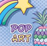 Шаржи искусства шипучки бесплатная иллюстрация