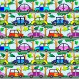 шарж автомобиля Стоковая Фотография