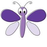 шарж бабочки иллюстрация вектора