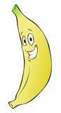 шарж банана Стоковые Фото