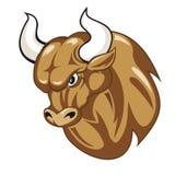 шарж быка Стоковое Фото