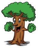 Шарж дерева иллюстрация штока