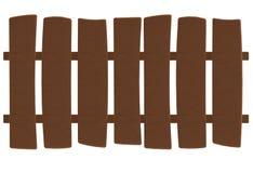 Шарж деревянный обнести стиль пластилина или глины иллюстрация вектора