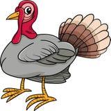 Шарж животноводческой фермы птицы Турции Стоковое Изображение
