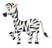 Шарж зебры Стоковое фото RF