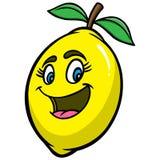 Шарж лимона иллюстрация вектора