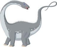 Шарж динозавра Стоковое Изображение RF