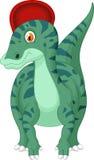 Шарж динозавра иллюстрация штока