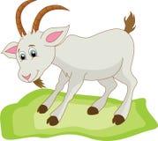 Шарж козы иллюстрация вектора