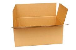 шарж коробки пустой Стоковое Изображение