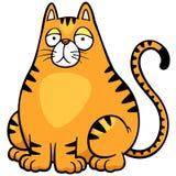 Шарж кота Стоковые Изображения RF