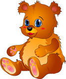 шарж медведя иллюстрация вектора